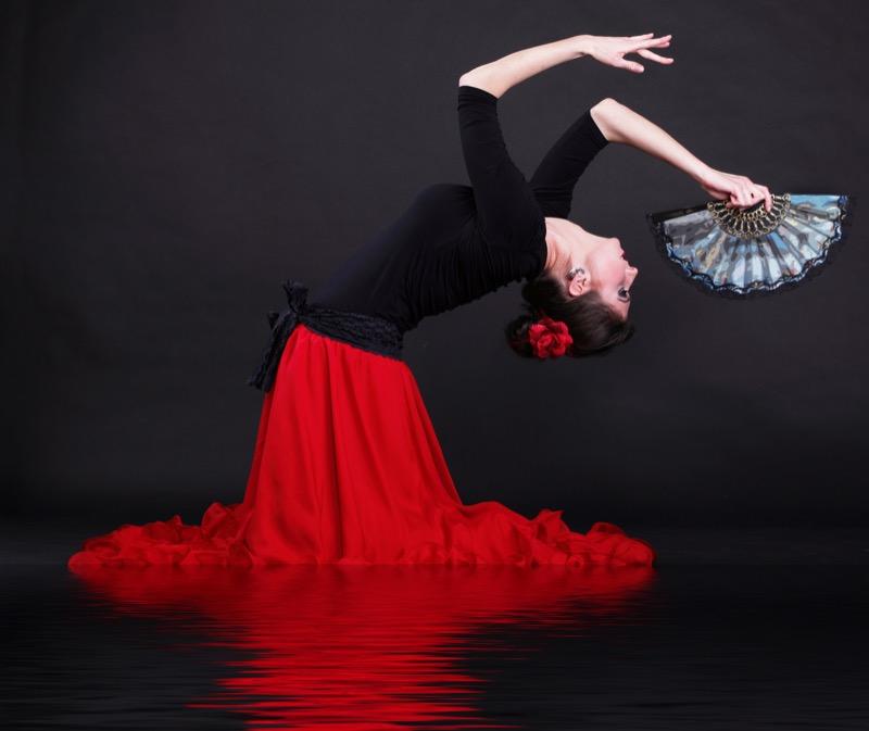 clases de flamenco en escuela de danza Esséns - Vigo