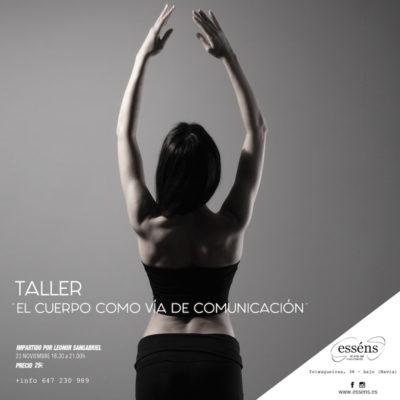 """Taller """"El cuerpo como vía de comunicación"""""""