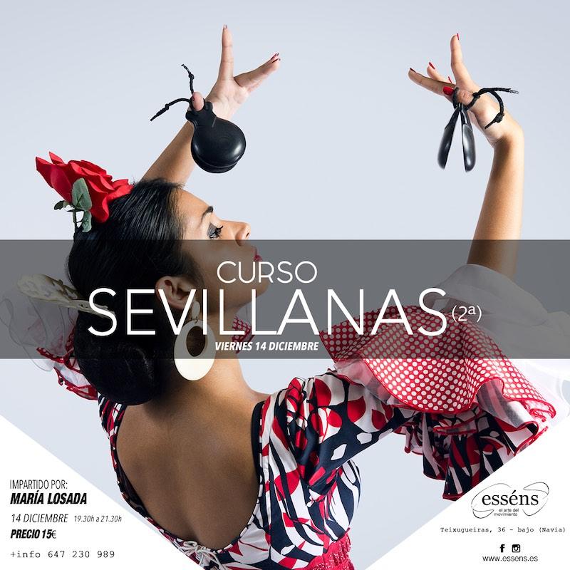 curso de sevillanas - Escuela Danza Essens Vigo