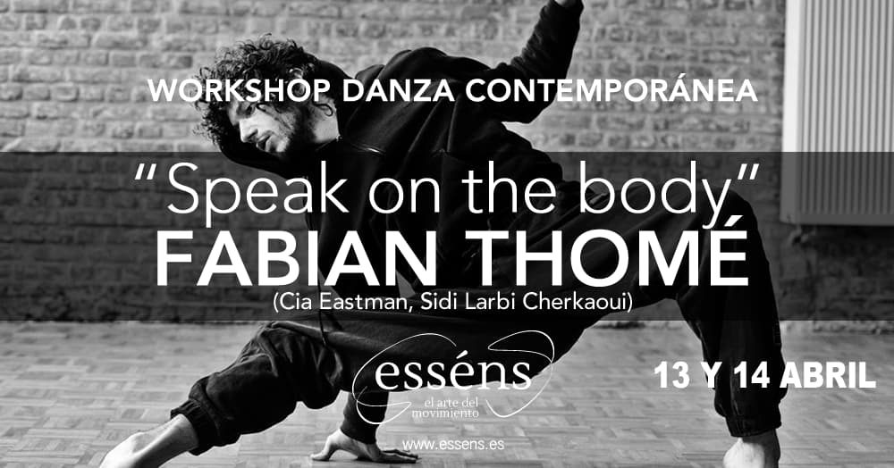 workshop danza contemporánea Fabian Thomé en Vigo